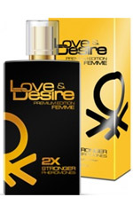 Love & Desire Gold 2-FACH KONZENTRIERT for Women 100ml EdP