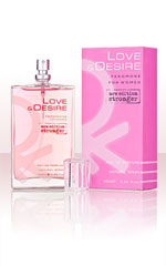 Love & Desire  for Women 100ml EdP mit Pheromonen
