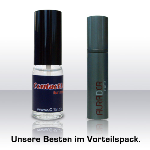 Kombi- Paket Aurador male + C18 (12ml + 15ml)