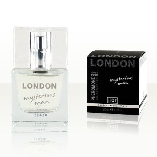 HOT Man Pheromone Parfum LONDON, mysterious man, 30 ml