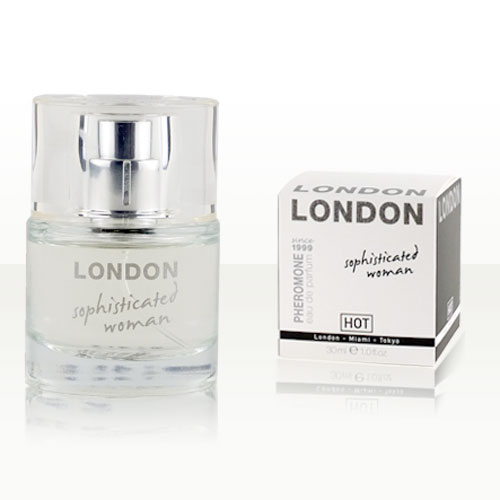 HOT Woman Pheromone Parfum LONDON, sophisticated woman, 30 ml