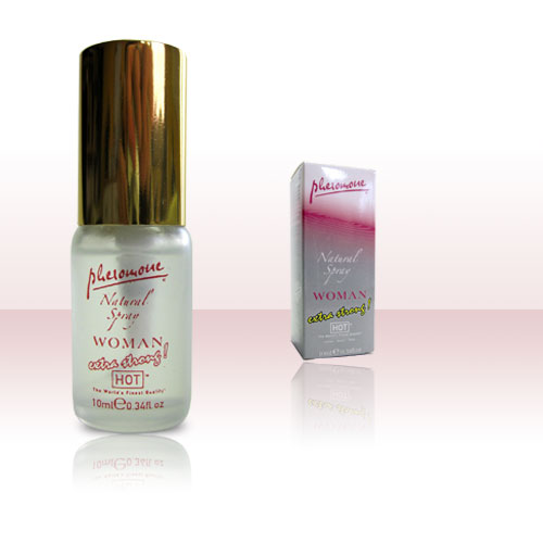 HOT Woman Natural spray extra strong 10ml  Pheromonparfüm